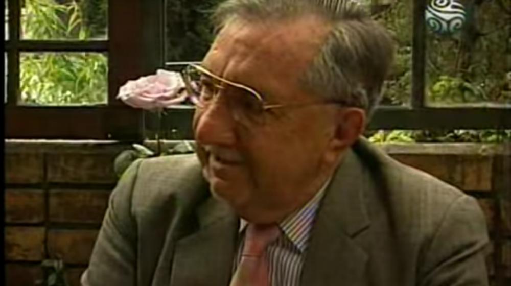 Fernando Pacheco en el programa 'Charlas con Pacheco' de Señal Colombia - 1998
