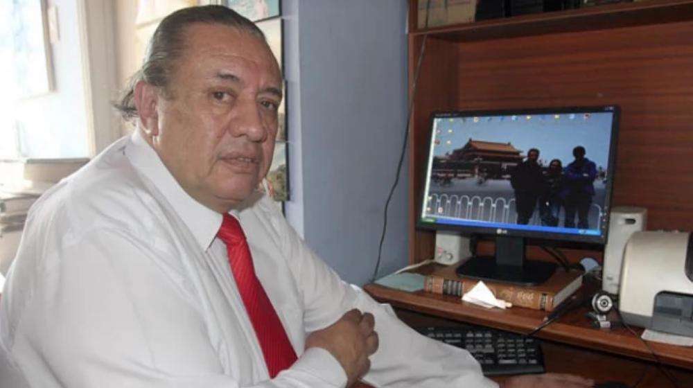 Héctor Mora, periodista colombiano.