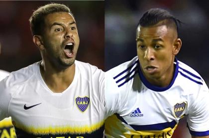 Edwin Cardona y Sebastián Villa