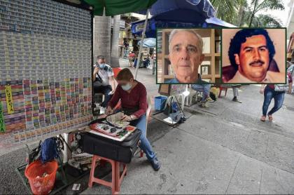 Números de Álvaro Uribe (preso) y otros famosos que han dado suerte a jugadores de lotería y chance.