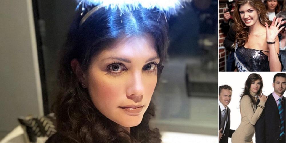Fotos de Andrea Noceti reciente, cuando fue reina y en 'Nuevo rico, nuevo pobre'.