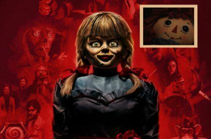 Annabelle del cine y la muñeca real