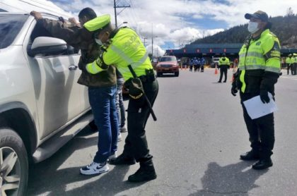 Operativos de Policía en puente festivo
