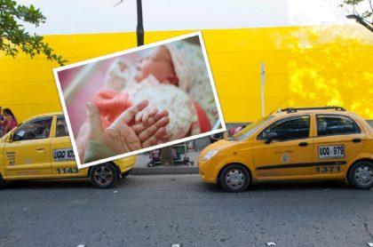 Taxista cambió de profesión para ayudar a dar a luz a mujer que no aguató más en el carro