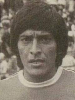 Oswaldo Palavecino, goleador argentino en Colombia.