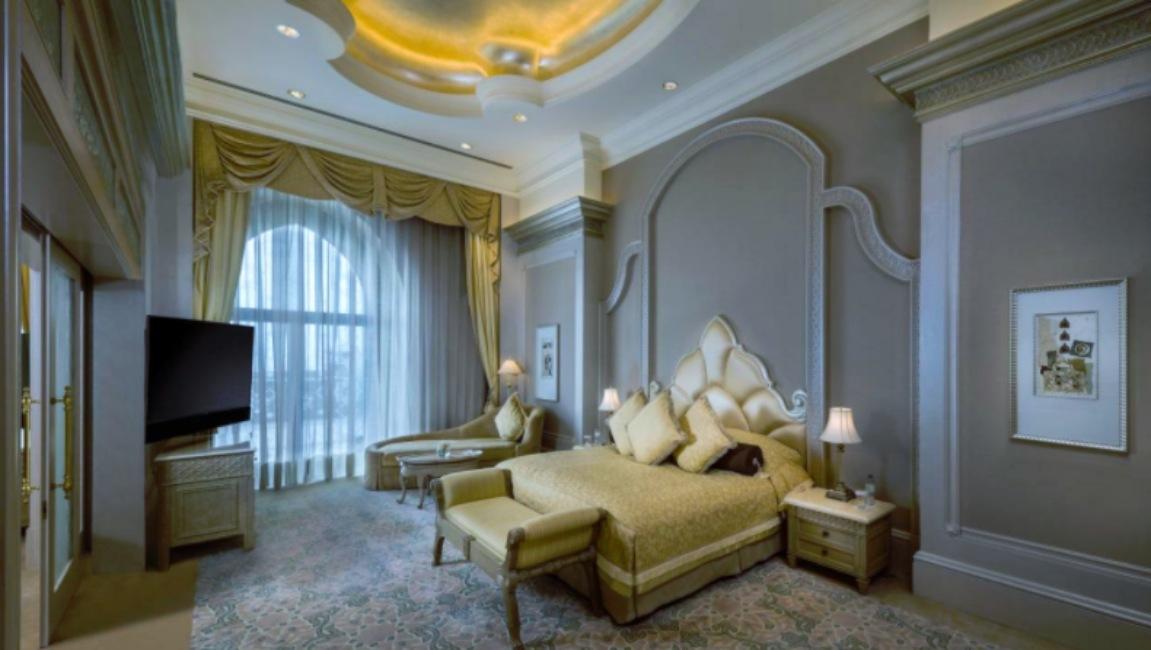Habitación del Emirates Palace, hotel de Abu Dabi donde se estaría hospedando el rey Juan Carlos de España.