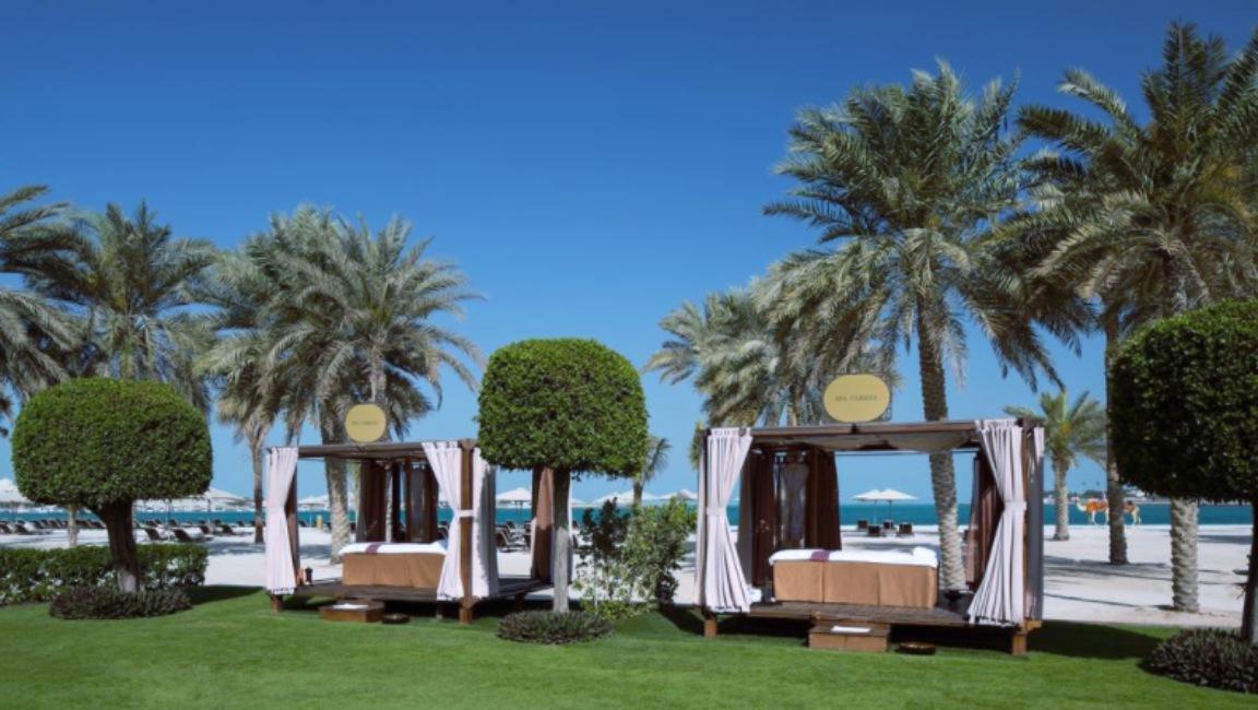 Zona de relación del Emirates Palace, hotel de Abu Dabi donde se estaría hospedando el rey Juan Carlos de España.