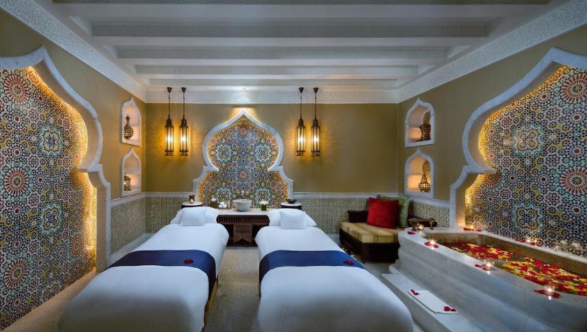 Spa del Emirates Palace, hotel de Abu Dabi donde se estaría hospedando el rey Juan Carlos de España.