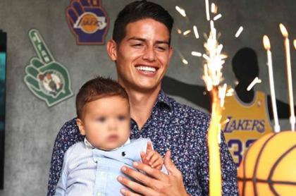 Mamá del hijo de James Rodríguez es Shannon de Lima: Daniel Habif