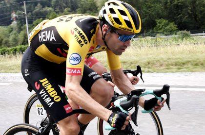 Tom Dumoulin, cilcista holandés que correrá el Tour de Francia.