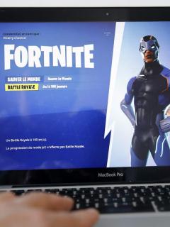 Fortnite en un MacBook Pro