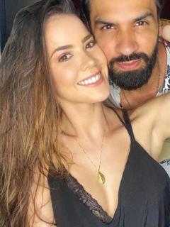 Laura de León cambio de 'look', luego de su matrimoniocon Salomón Bustamante.