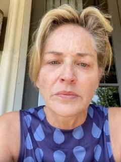 Sharon Stone y Donald Trump