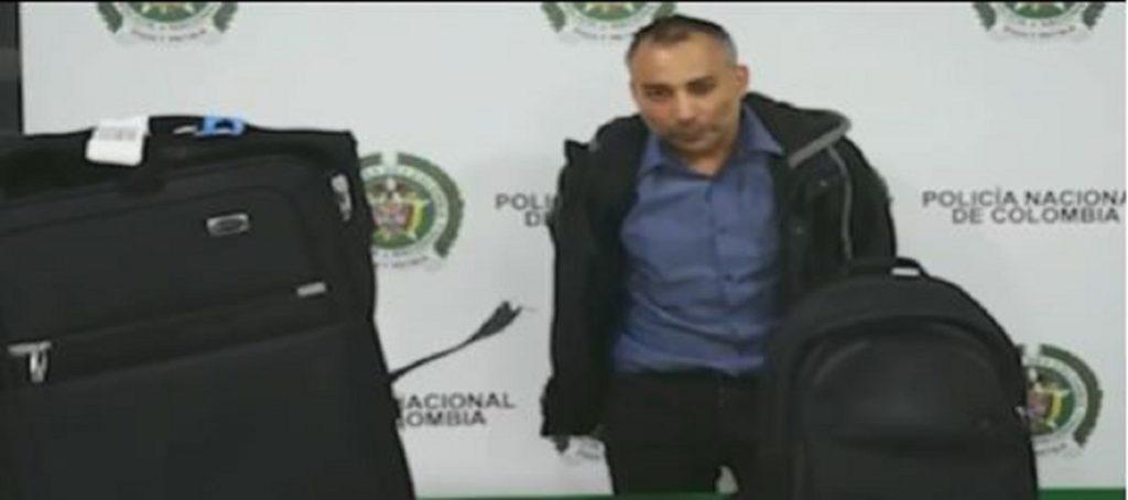 Captura de video Policía de Bogotá