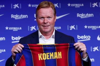 Ronald Koeman, nuevo técnico del Barcelona