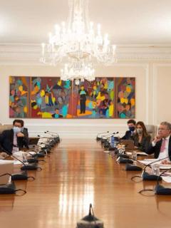 Iván Duque y su equipo evalúan extender la cuarentena en Colombia