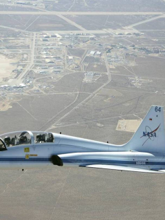 Jet Northrop T-38 Talon de la Nasa