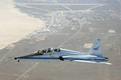 Jet Northrop T-38 Talon de la Nasa