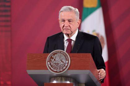 El presidente de México, Andrés Manuel López Obrador, manifestó que no usar el tapabocas en público debido a que no contagia el COVID-19.