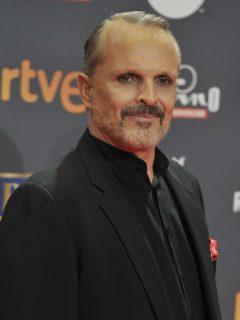 Miguel Bosé en los Platino Awards 2017