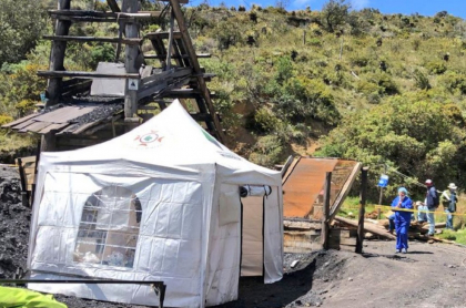 Alerta por accidente que dejó tres personas atrapadas en mina de Lenguazaque, Cundinamarca
