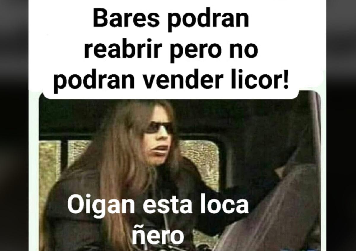 ¡A palo seco! 10 memes que dejó reapertura de bares, pero sin venta de licor en Colombia.
