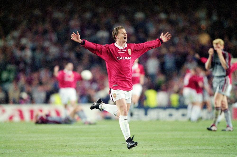 Final de Champions League entre el Manchester United y el Bayern de Múnich, en 1999.