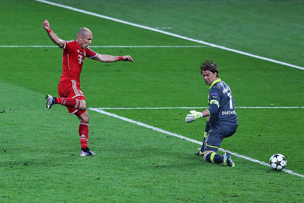 Final de Champions League entre el Bayern de Múnich y el Borussia Dortmund, en 2013.