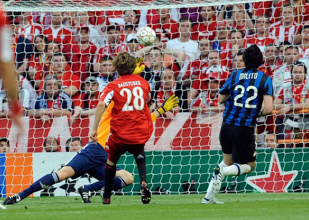 Final de Champions League entre el Inter de Milán y el Bayern de Múnich, en 2010.