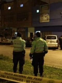 Thomas Restobar, local de Lima, Perú, donde murieron asfixiadas 13 personas, en medio de un operativo policial.
