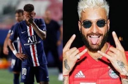 """""""Por hacer llorar a Maluma"""", y más memes por la derrota de Neymar en la Champions"""