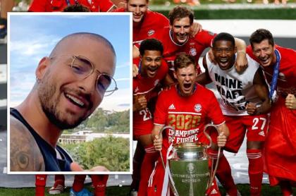 Bayern Múnich y Maluma