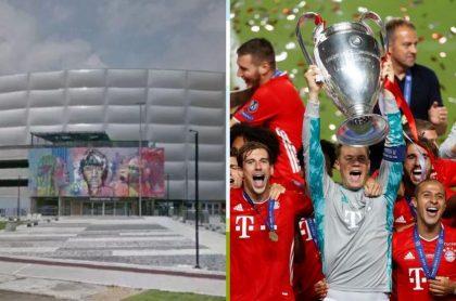 Movistar Arena le hizo homenaje al Bayern Múnich por ganar la Champions League