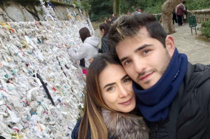 Johanna Fadul y 'Juanse' Quintero en Turquía