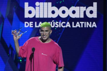 Bad Bunny en los Premios Billboard a la música latina 2019