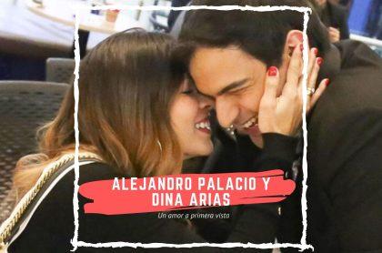 Alejandro Palacio y Dina Arias
