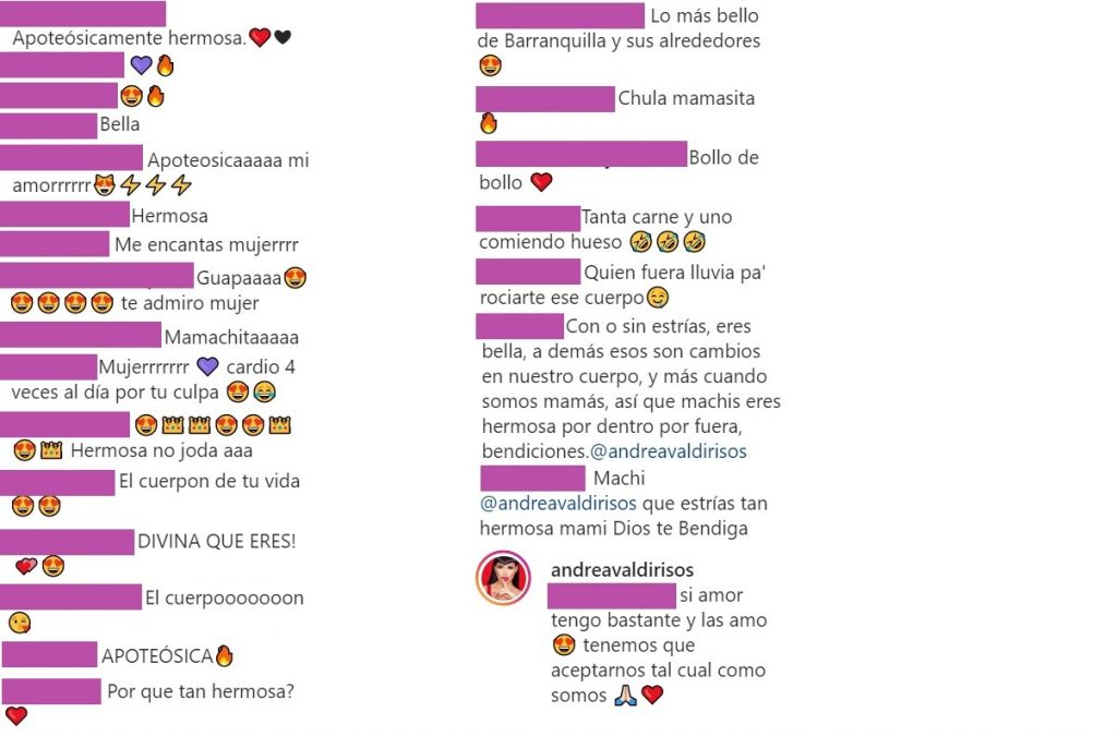 Instagram Andrea Valdiri.