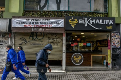 Locales comerciales en Bogotá, durante la pandemia de COVID-19