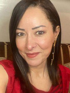 Selfi de Flavia Dos Santos, sexóloga que contó cómo se califica en el sexo.