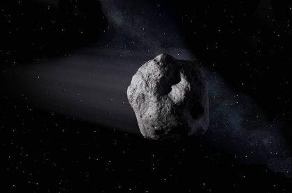 Imagen de asteroide que ilustra nota sobre el cuerpo celeste que pasará cerca a la Tierra en noviembre