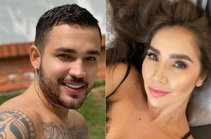 Jessi Uribe y Paola Jara, pareja de cantantes que se hizo el mismo tatuaje.