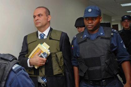 Salvatore Mancuso en un juzgado en Medellín en 2007. Colombia no ha pedido su extradición.