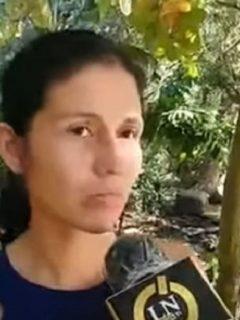 Andrea Oyola, madre de la bebé que cayó al río Magdalena