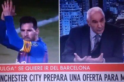 Periodista argentino Mauro Viale, que humilló a compañera con comentario machista hablando de Lionel Messi
