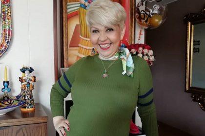 'La Gorda' Fabiola, humorista que anunció matrimonio de su perro Matrimonio de perro con una Bulldog francés blue.