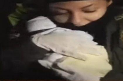 Policías atendieron el parto de una bebé en Soacha.