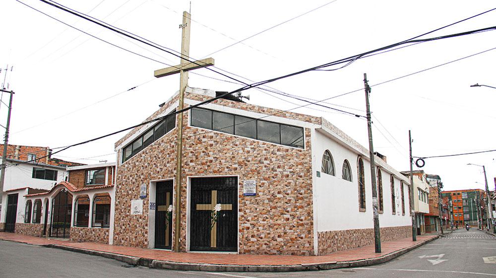 Iglesia del barrio Pio XII cerrada, 27 de agosto.