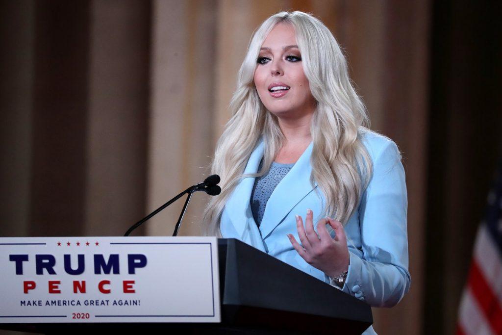 Tiffany Trump en la convención republicana / AFP