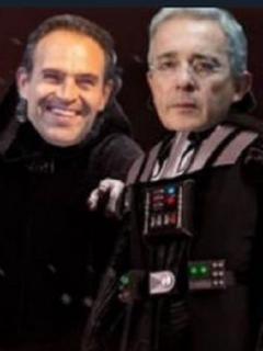 Centro Democrático, como los villanos de 'Star Wars'