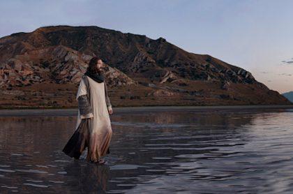 Jesús camina sobre el agua, uno de los portentos que habrían sucedido en Betsaida.